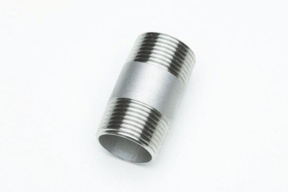 """Rohrdoppelnippel, Art. 530VA, 2"""" x 270mm, AISI 316"""