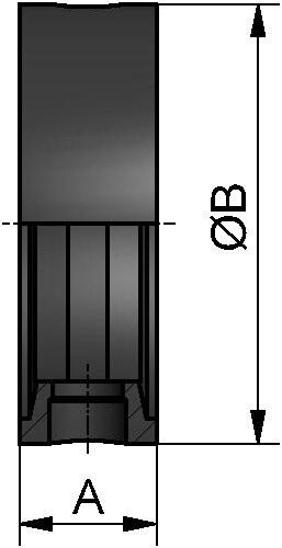 M&S Scheibenventil-Dichtung SV04/TYP98, DIN, DN 32, FKM