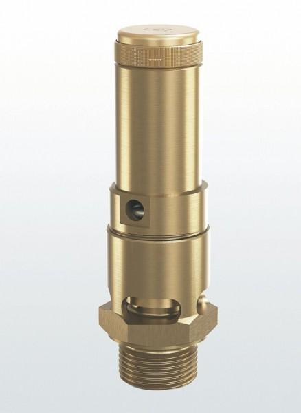 """Pressluft-Sicherheitsventil Fig. 810sGK, 1/2"""" FKM"""